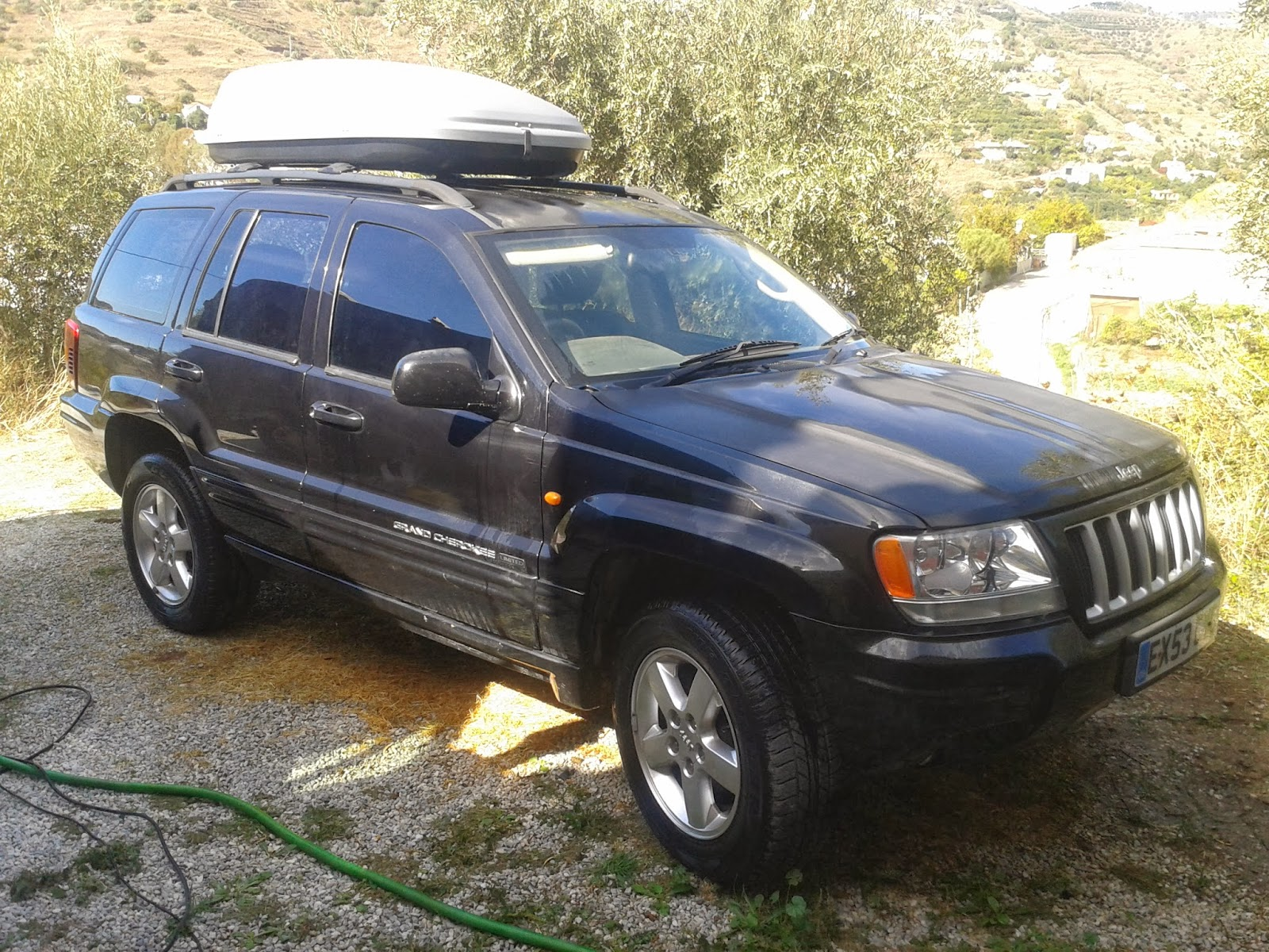 digame for sale 2003 jeep grand cherokee 2 7 crd rhd. Black Bedroom Furniture Sets. Home Design Ideas