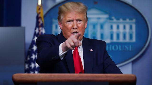"""""""Jamás la dejaremos caer"""": Trump promete medidas para sostener """"la gran industria petrolera"""" de EE.UU."""