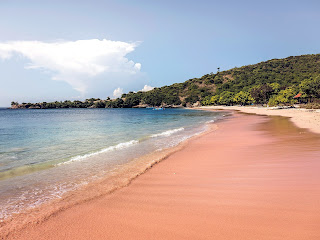 Amazing Pink Sand Beaches in Indonesia