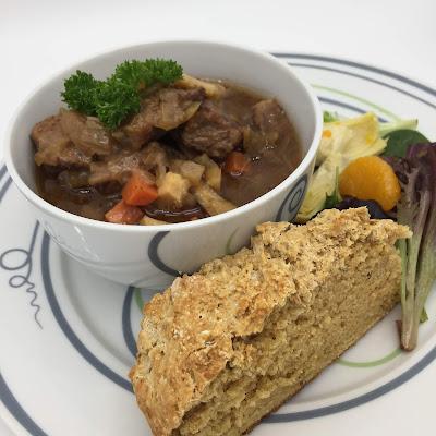 Livliga Irish Stew on Vivente Portion Control Tableware