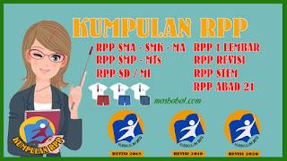 Perangkat Pembelajaran RPP 1 Lembar SMA Kurikulum 2013 Tahun Ajaran 2020