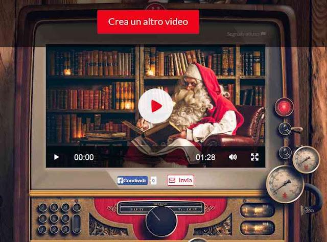 PNP videomessaggio personalizzato da Babbo Natale