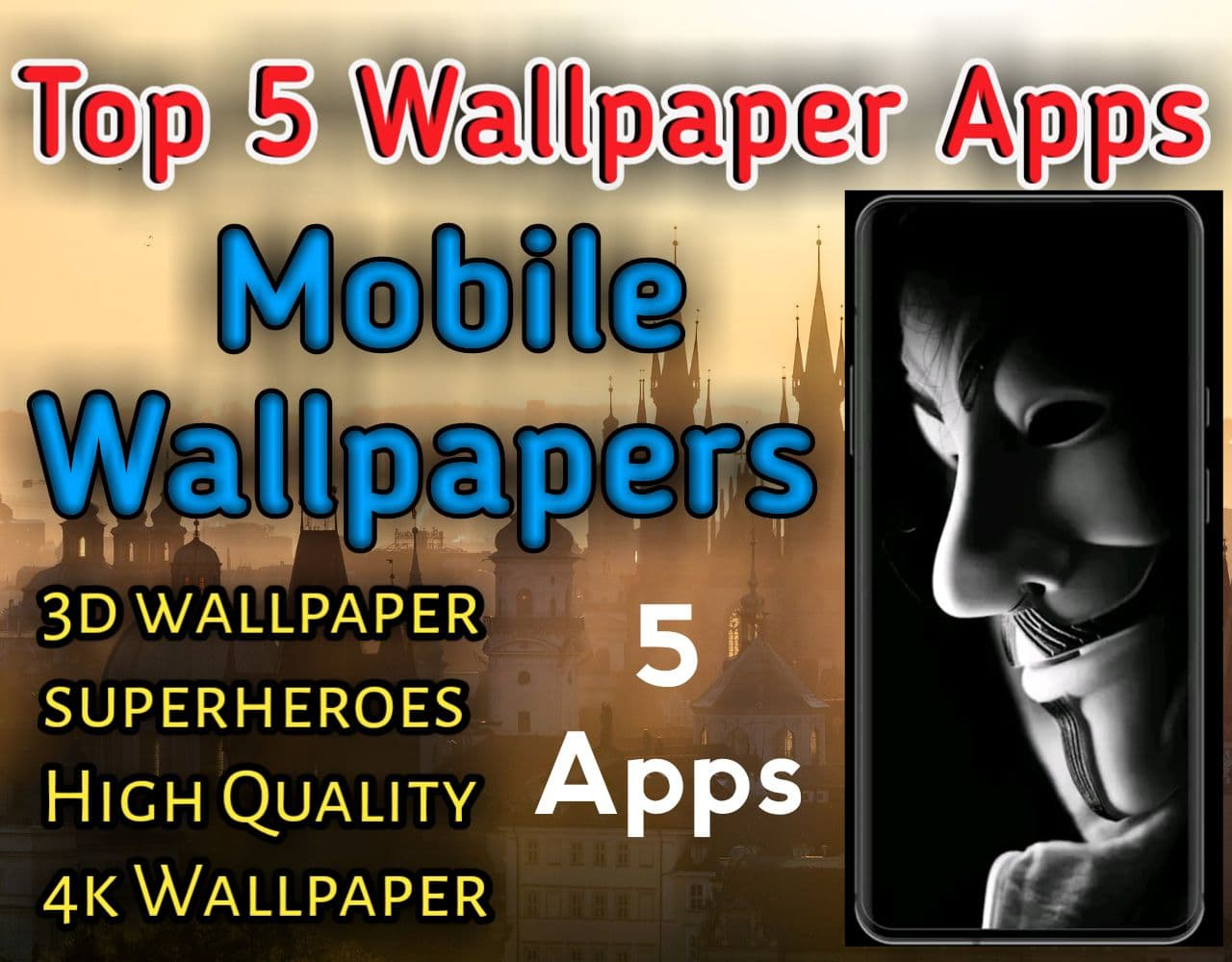 Top 5 Best Wallpapers and Background Apps for Android and IPhone 2021