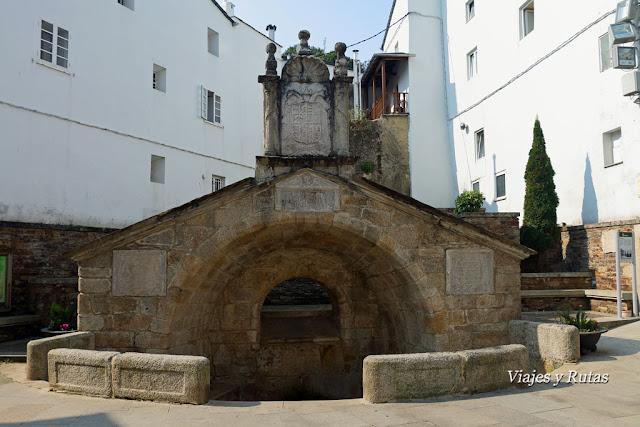 Fonte Vella o Fuente vieja de Mondoñedo