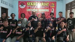 Pengurus LSM Barak Mada Cirebon Dikukuhkan