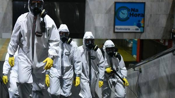 Brasil registra 5.717 casos confirmados de coronavírus e 201 mortes