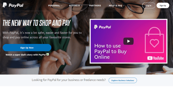 PayPal - Online Payment, Merchant Account