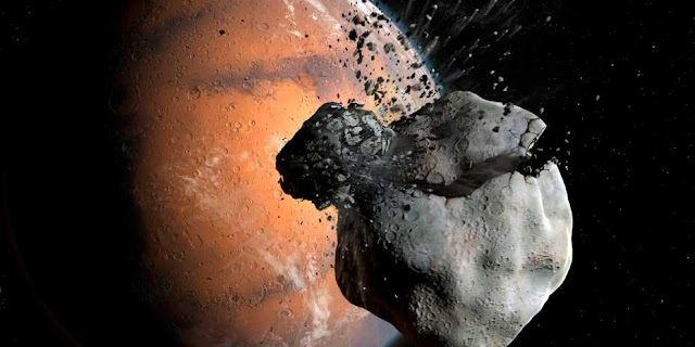 Martian moons have a common ancestor