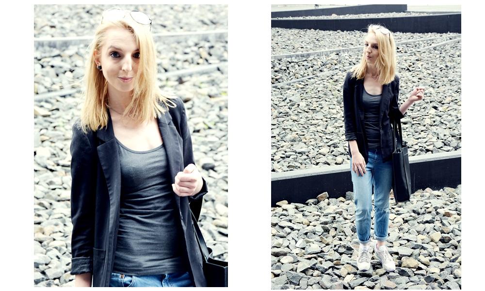 fashion, blondynka, modne frele, H&M
