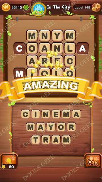 Word Bright Level 148 Answers, Cheats, Solutions, Walkthrough for android, iphone, ipad and ipod