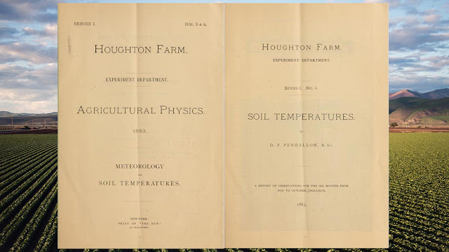 Agricultural physics by Houghton Farm