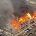 Reportan fuerte incendio en Isla del Padre, Texas