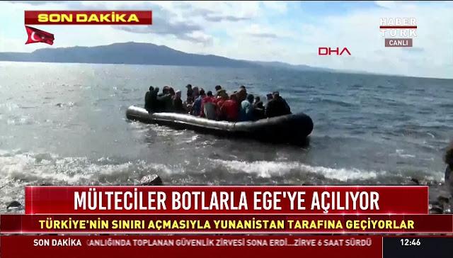 """Η Τουρκία ετοιμάζει, στην Σμύρνη, τα νέα κύματα """"μεταναστών"""" για Ελλάδα"""