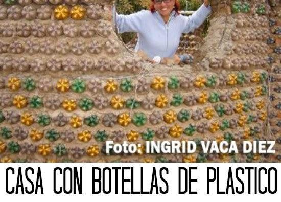 botellas de plastico, casas de botellas, reciclaje, manualidades