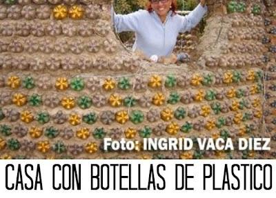 Como hacer una Casa de Botellas Recicladas