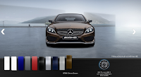 Mercedes AMG C63 S Edition 1 2015 màu Nâu Citrine 796
