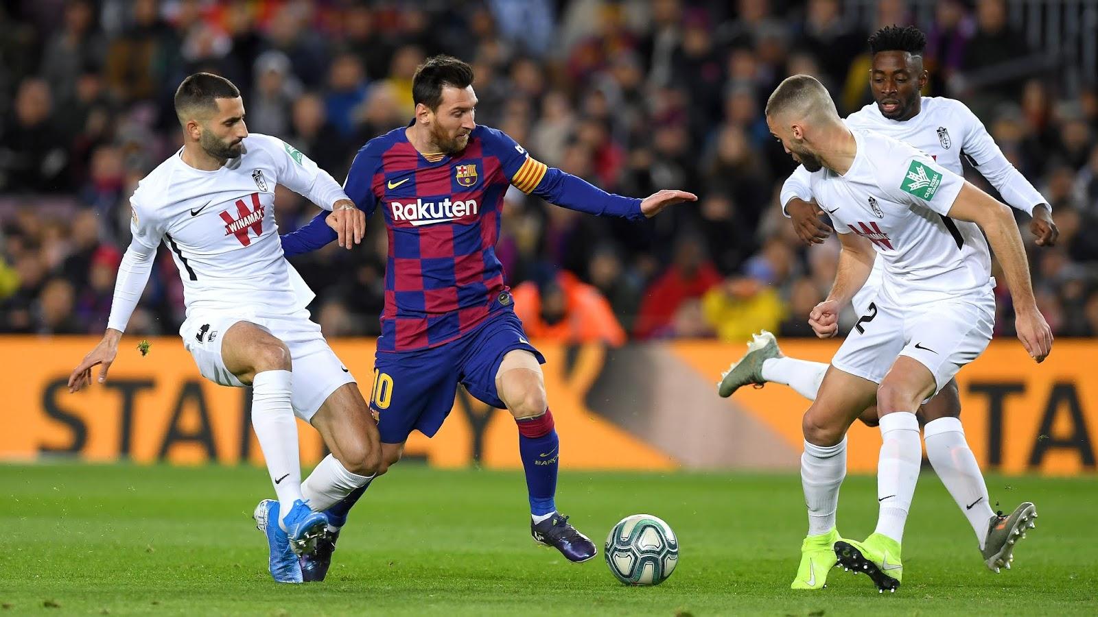 نتيجة مباراة برشلونة وإبيزا بتاريخ 22-01-2020 كأس ملك إسبانيا