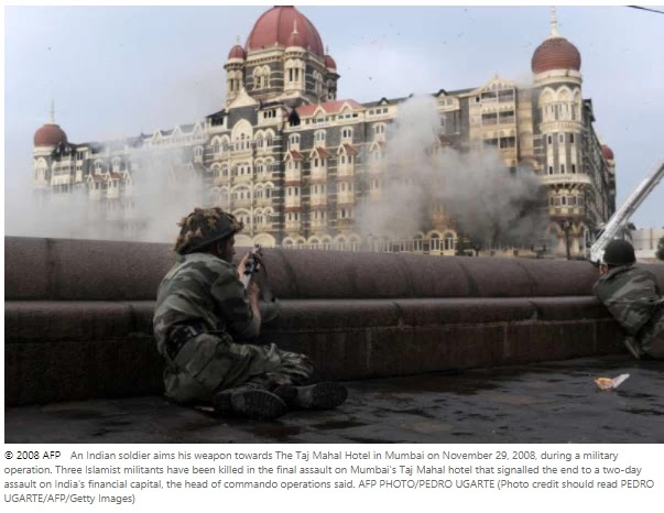 Pakistan jails three accused of financing Mumbai attacks, A court in Pakistan