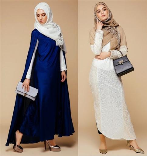 Model Baju Muslim Wanita Terbaru 2017/2018