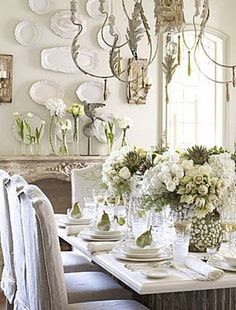 white-ironstone-display-wall