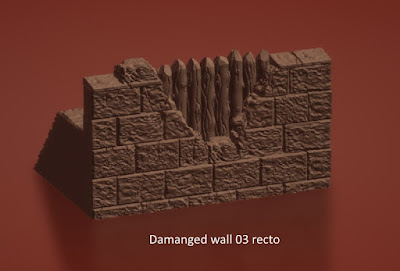 Damaged Wall Sections picture 1
