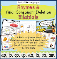 Kids love this fun that builds articulation or phonics skills!