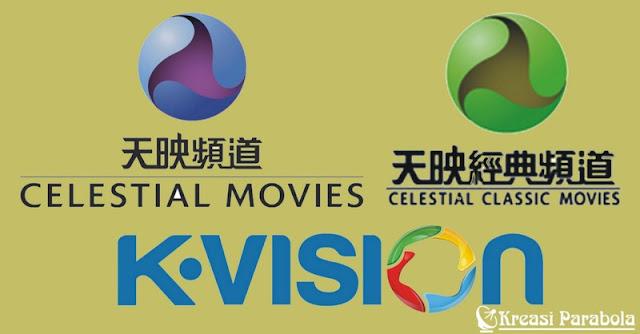 Frekuensi celestial Movies dan Celestial Classic Movies