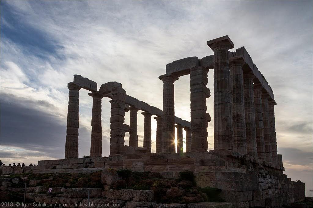 Храм Посейдона, Сунион, Греция, Σούνιον