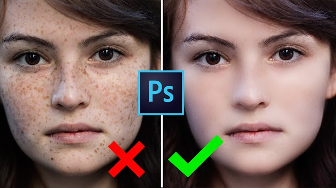 Automatic Skin Spot Remove Magic Skin Retouching Actions 2019
