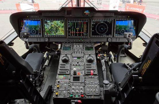 AgustaWestland AW101 cockpit
