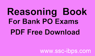 Reasoning Book For Bank PO PDF Download