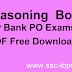 Reasoning Book For Bank PO PDF Download Kiran Prakash Books PDF Free Download