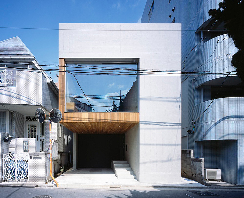 Vivienda unifamiliar en Nakano - Apollo Architects & Associates