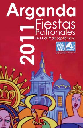 Programación de las Fiestas de Arganda del Rey 2011