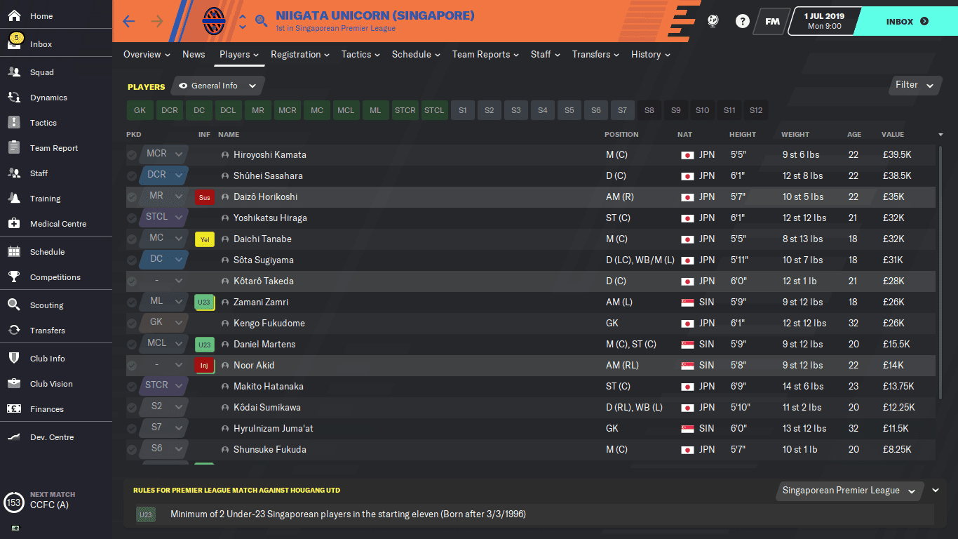 Top 5 Clubs With Transfer Restrictions in Football Manager
