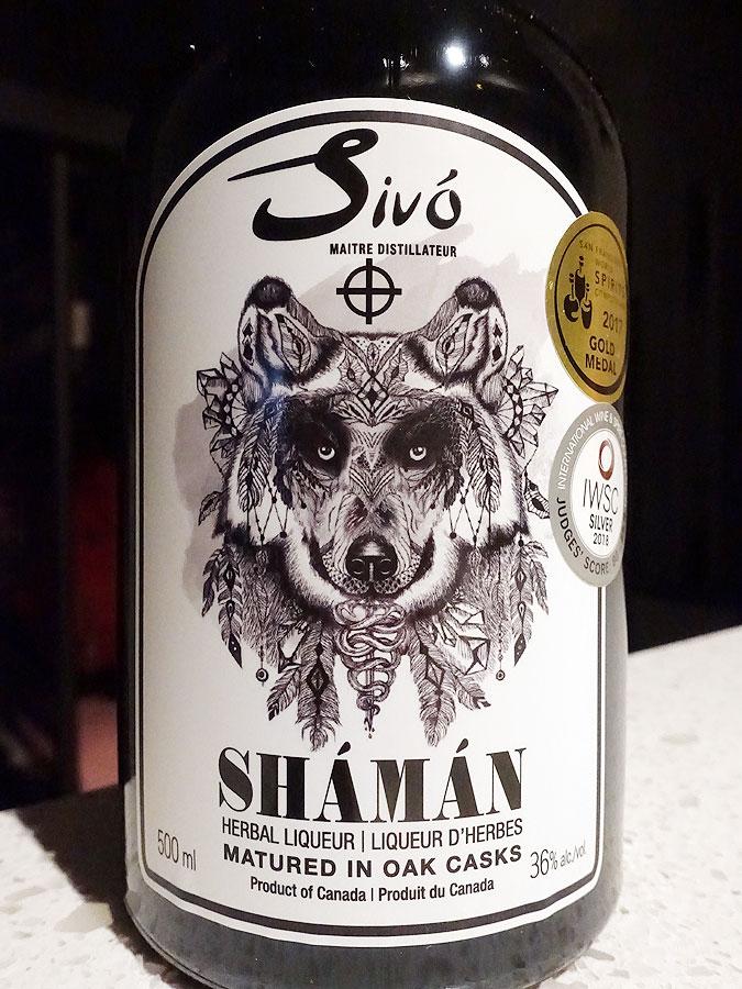Sivó Shámán Herbal Liqueur