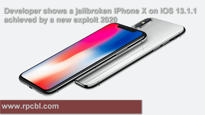 Developer shows a jailbreak iPhone X on iOS 13.1.1 achieved by a new exploit