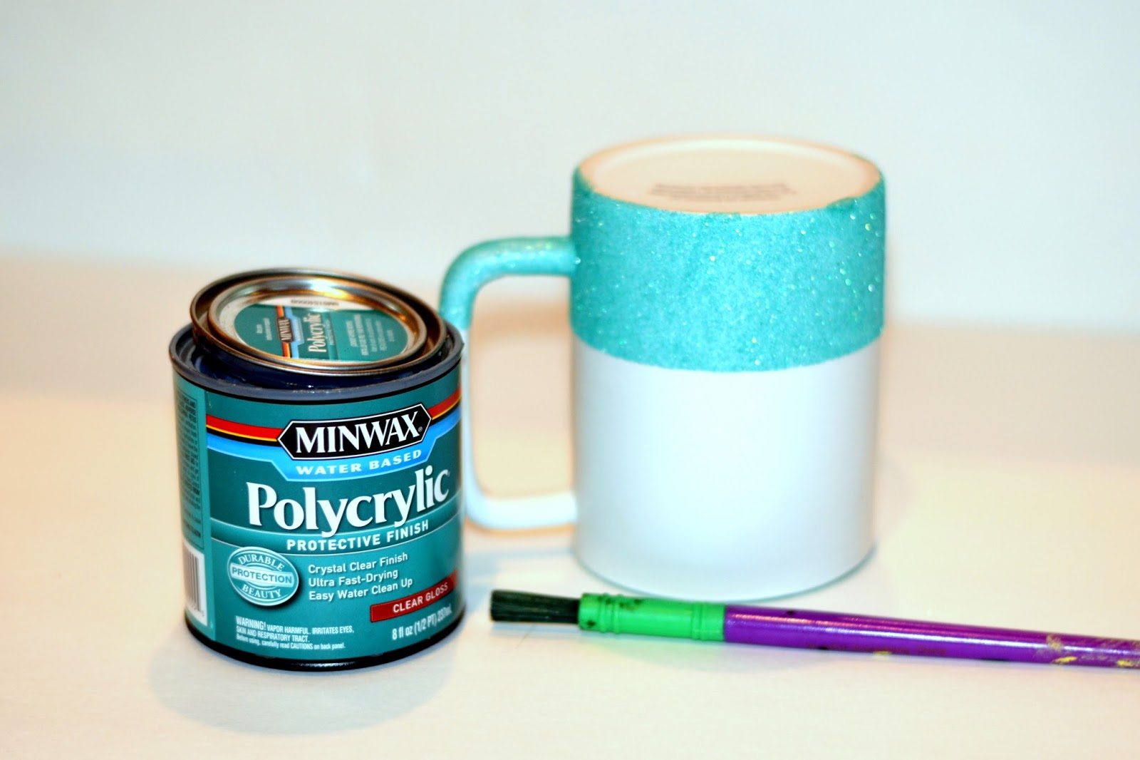 Glitter Coffee Mug Made Two Different Ways Rachel Teodoro