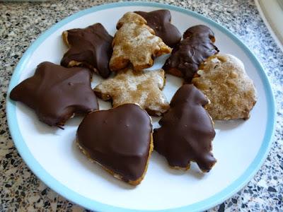 Home-made gluten free Lebkuchen