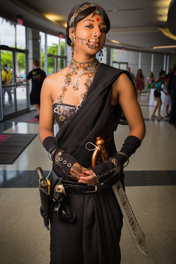 Steampunk Inspired Indian Costume