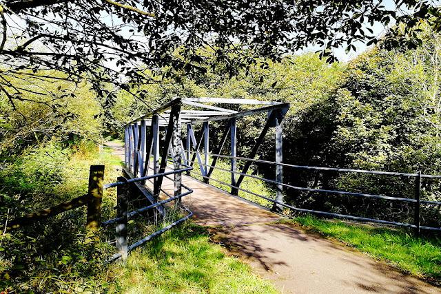 Footbridge Near Moor Row