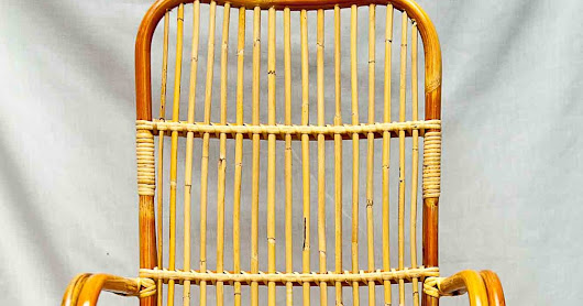 The Empty Rattan Chair
