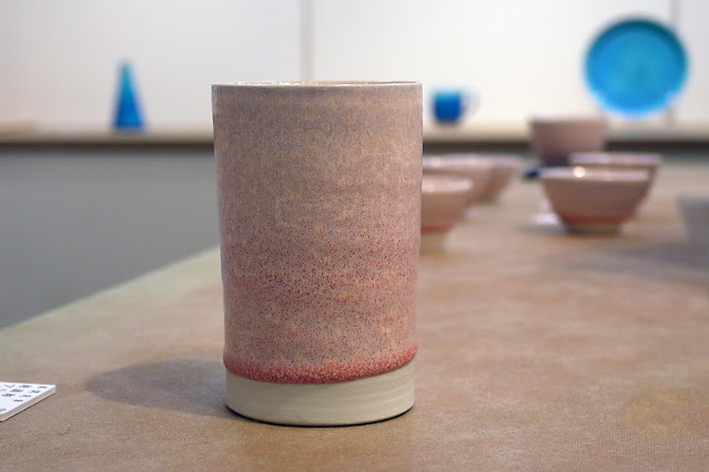 結晶釉 フリーカップ(税込価格 ¥4,950) サイズ:口径6.5cm×高さ10.3cm