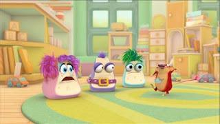 Abby's Flying Fairy School Say Gezundenshniffle, Abby Cadabby, Blögg, Gonnigan, Mrs. Sparklenose, Niblet, Sesame Street Episode 4320 Fairy Tale Science Fair season 43