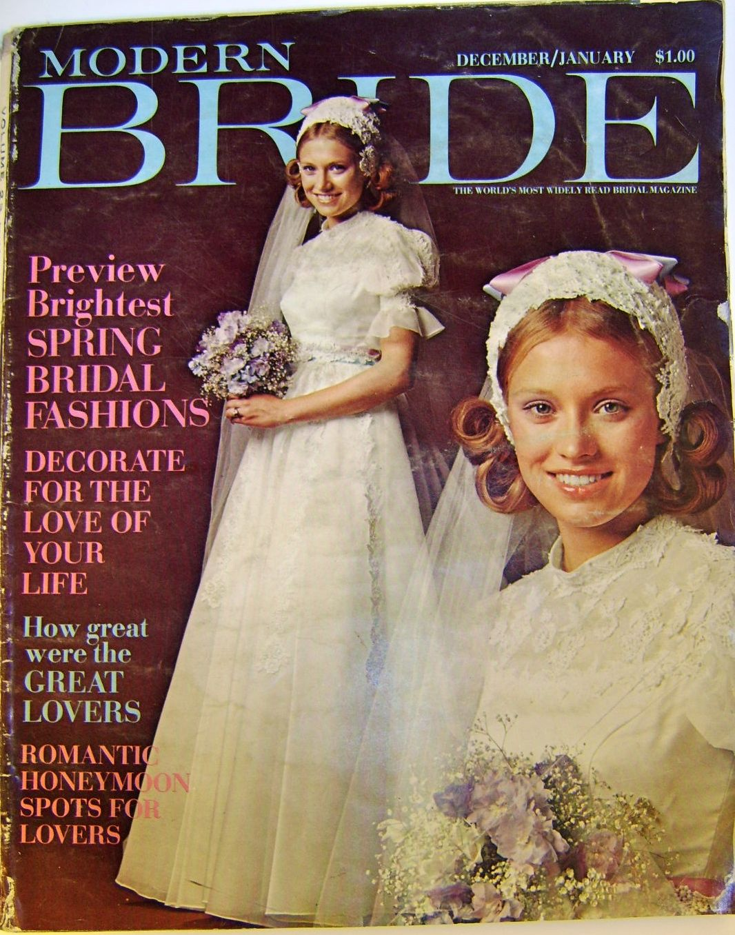 The Style Spectrum Modern Bride 1971 Vintage Wedding Fashion