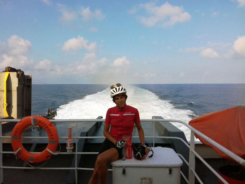 Sul traghetto per Ciutadella - Menorca