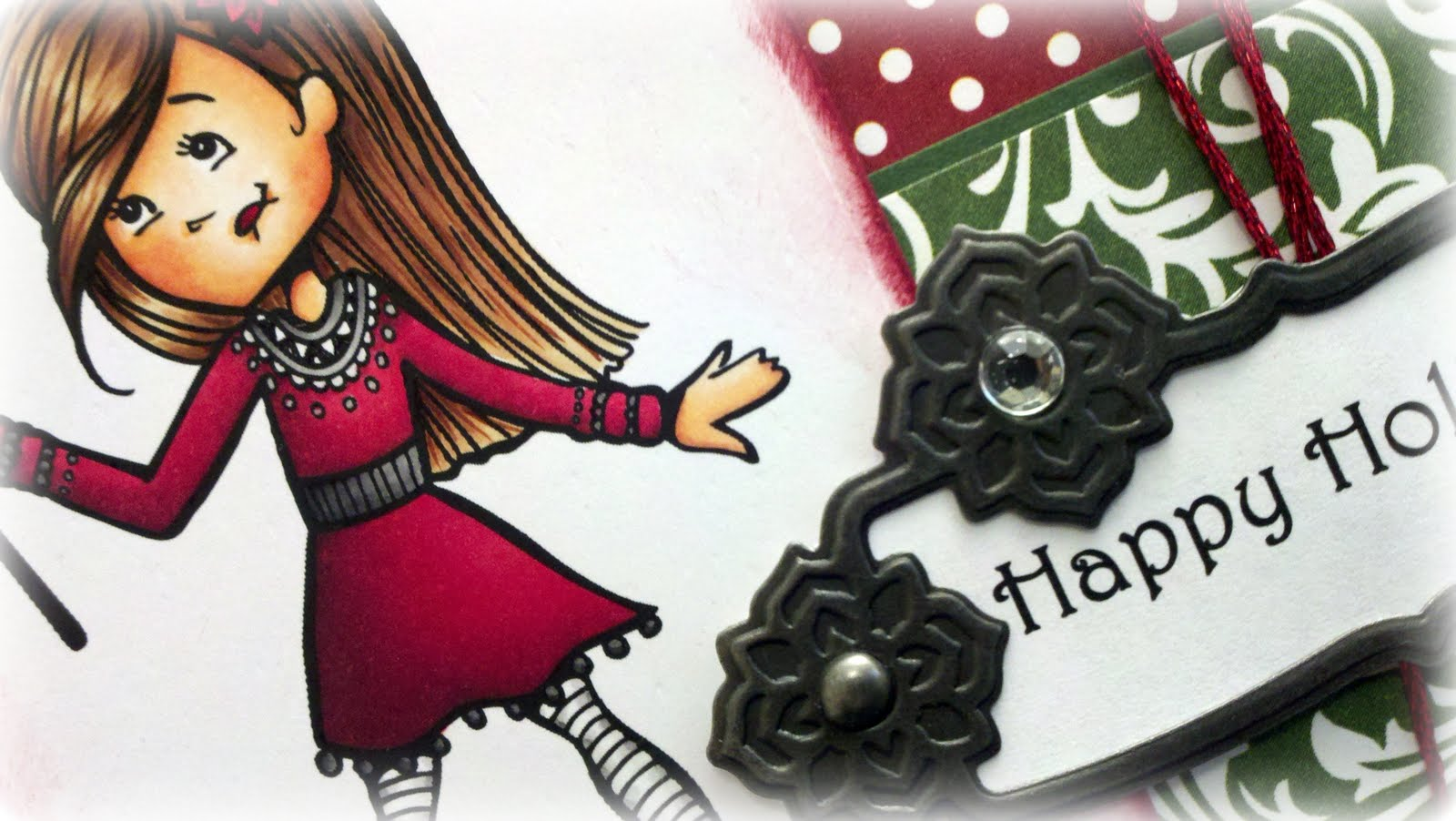 Kards By Katie Kreations A Tickled Pink Happy Holidays
