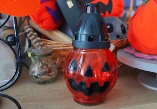 Inspiracje na Halloween lampion z lidla