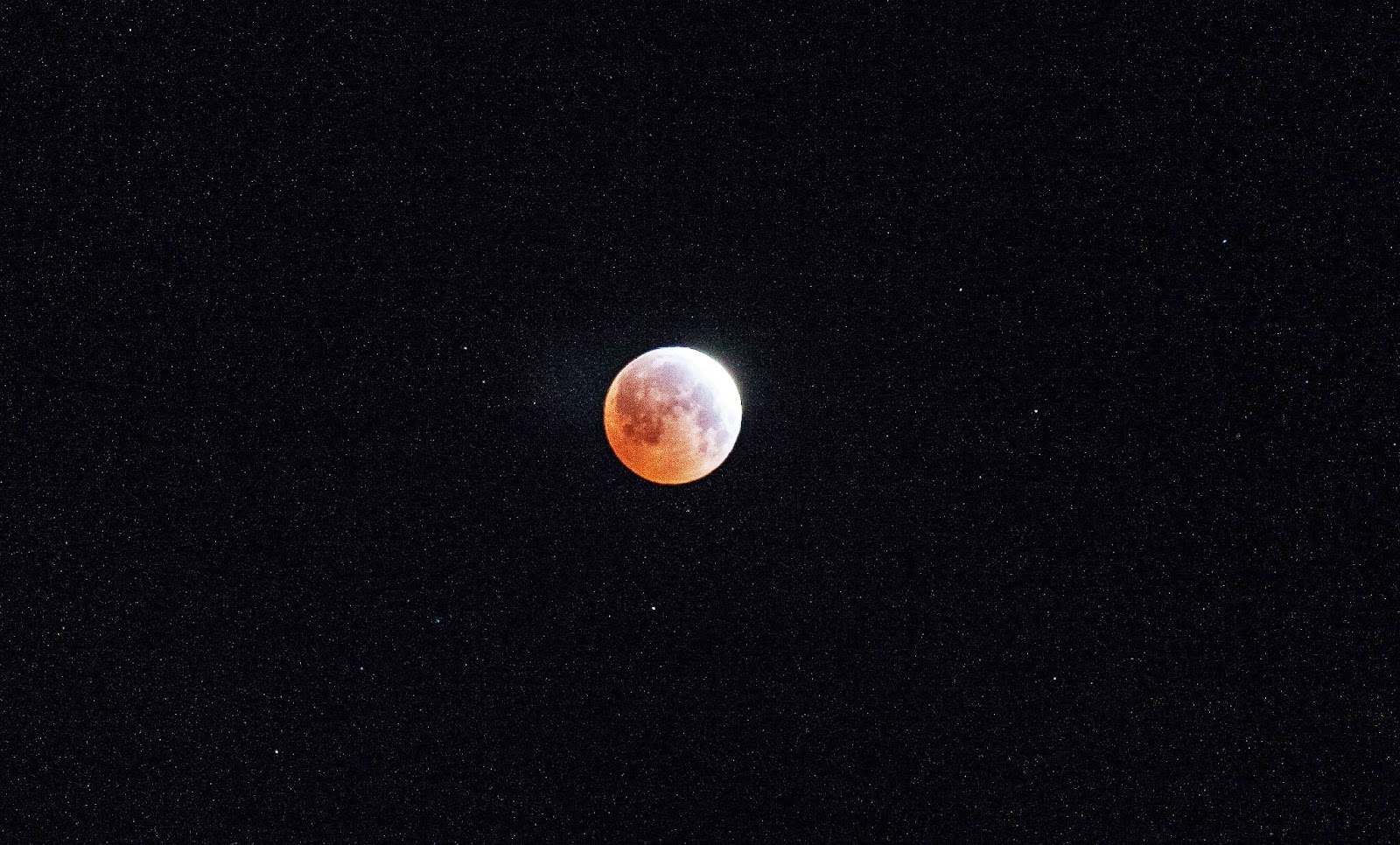 lunar eclipse photograph, sky photograph, night sky photograph, moon photograph, Sarah Venema, Colorado photographer