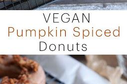 Vegan Pumpkin Spice Donuts